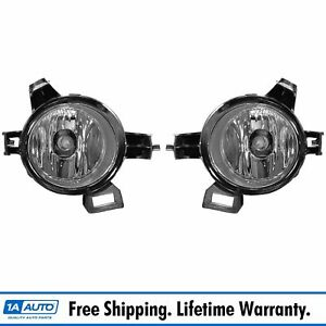 Fog Driving Lights Lamps Pair Set Lh Left Rh Right For Nissan Quest Altima