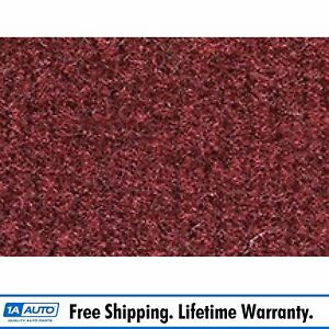 For 1974 78 Cadillac Eldorado Cutpile 885 light Maroon Complete Carpet Molded