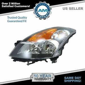 Headlight Headlamp Driver Side Left Lh New For 07 09 Nissan Altima