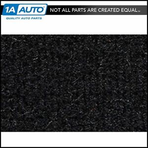 For 99 00 Escalade 4 Door Cutpile 801 black Passenger Area Carpet Molded
