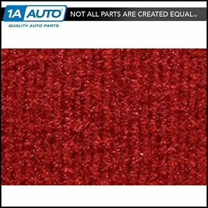 For 1987 95 Jeep Wrangler Cutpile 8801 flame Red Passenger Area Carpet Molded