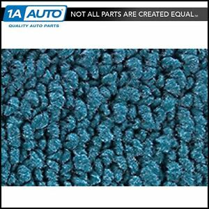 For 57 Ford Country Sedan 4 Door 80 20 Loop 06 ford Blue Complete Carpet Molded