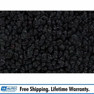 For 1959 60 Chevy Corvette Cut Sewn 80 20 Loop 01 black Complete Carpet