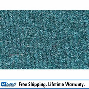 For 1974 78 Cadillac Eldorado Cutpile 802 blue Complete Carpet Molded
