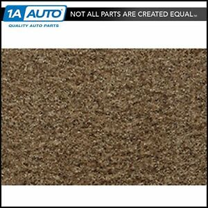 For 1985 91 Gmc Jimmy Full Size Cutpile 9205 Cognac Complete Carpet Molded