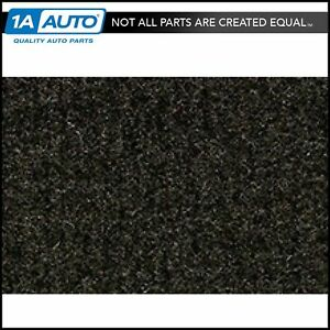 For 1983 87 Honda Prelude Cutpile 897 Charcoal Complete Carpet Molded