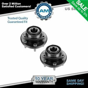 2 Front Or Rear Wheel Bearing Hub Chevy Traverse Buick Enclave Gmc Acadia 3 6l