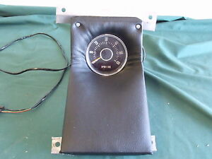 Ford 1968 Galaxie 500 Xl Console Tach Set up 6000 Tachometer Fomoco 68