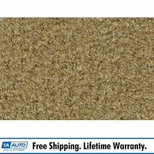 For 1980 93 Ford Bronco Cutpile 7577 Gold Cargo Area Carpet Molded