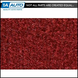 For 1985 92 Chevy Camaro Cutpile 7039 dk Red carmine Cargo Area Carpet Molded