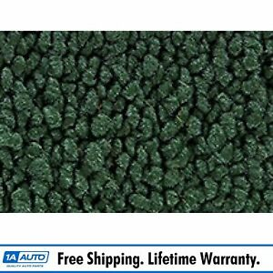 For 63 66 Valiant 4 Door 80 20 Loop 08 dark Green Complete Carpet Molded