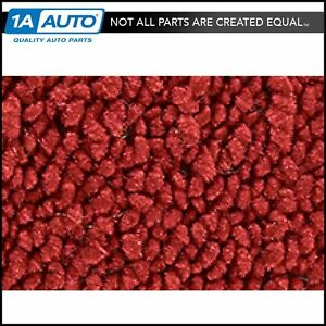 For 1971 73 Cadillac Calais 4 Door 80 20 Loop 02 red Complete Carpet Molded