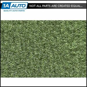 For 74 76 Cadillac Calais 4 Door Cutpile 869 willow Green Complete Carpet Molded