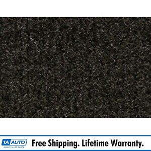 For 84 88 Toyota Pickup Regular Cab Cutpile 897 charcoal Complete Carpet Molded