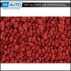 For 1967 Ford Thunderbird 2 Door 80 20 Loop 02 Red Complete Carpet Molded