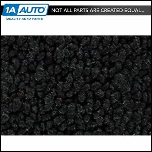 For 57 58 Buick Super Convertible Cut Sewn 80 20 Loop 01 Black Complete Carpet