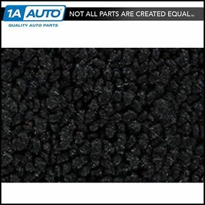 For 64 66 Barracuda 80 20 Loop 01 Black Cargo Area Carpet Molded Fastback