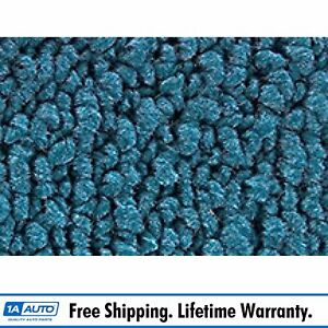 For 1967 68 Mercury Cougar Coupe 80 20 Loop 06 Ford Blue Complete Carpet Molded