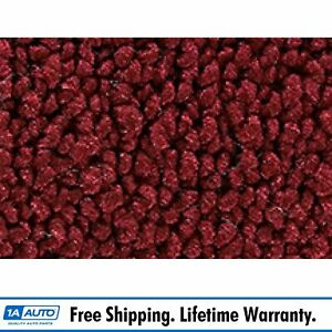 For 1967 68 Mercury Cougar Coupe 80 20 Loop 13 Maroon Complete Carpet Molded