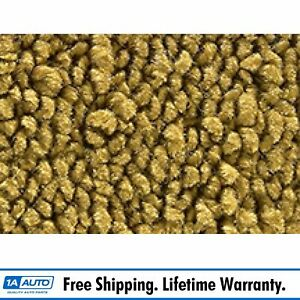 For 1971 73 Cadillac Calais 4 Door 80 20 Loop 20 Gold Complete Carpet Molded