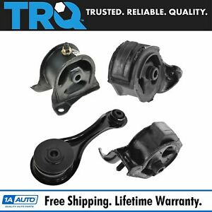 Engine Motor Mount Kit Set Of 4 For 90 93 Accord With Mt Manual Transmission New
