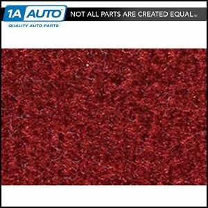 For 78 81 Olds Cutlass 2 Door Cutpile 7039 dk Red carmine Complete Carpet Molded