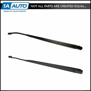 Windshield Wiper Arm Front Pair Hook Style Set Pair For Chevy Gmc Pickup Truck