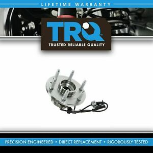 Trq Front Wheel Hub Bearing Assembly Lh Or Rh For Chevy Gmc Cadillac Awd 4x4