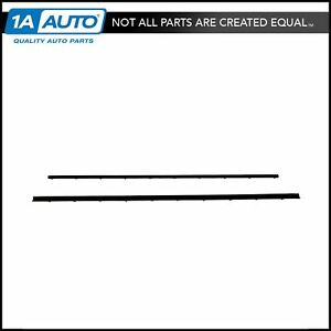 Tailgate Tail Gate Window Sweep Weatherstrip Seal Set Kit For 78 96 Ford Bronco
