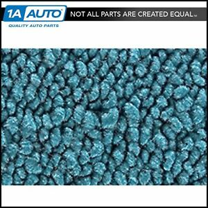 For 1958 Chevy Impala 09 Medium Blue Carpet Excluding Convertible Models