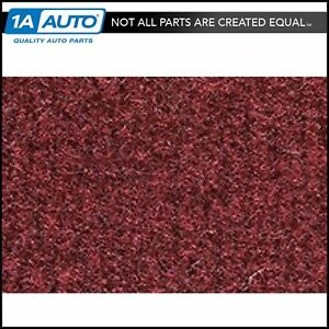 For 1990 92 Chevy Beretta Without Heat Vents 885 light Maroon Complete Carpet