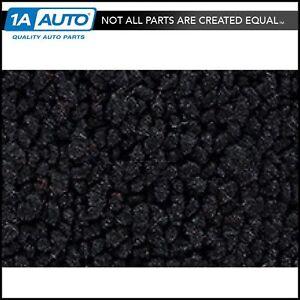 1964 Dodge 440 80 20 Loop 01 Black Complete Carpet For Automatic Transmission