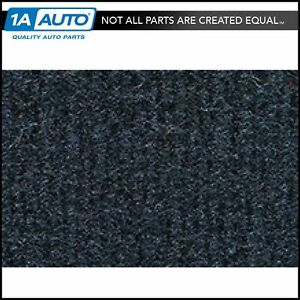 For 95 97 Yukon 2 Door Without Heat Vents Cutpile 840 navy Blue Complete Carpet