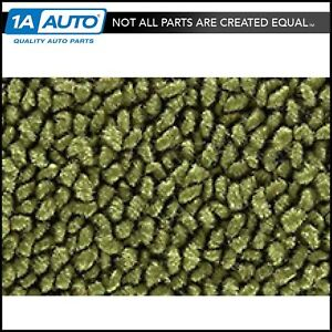 For 66 73 Bronco W Dual Fuel Tanks 80 20 Loop 14 moss Green Complete Carpet