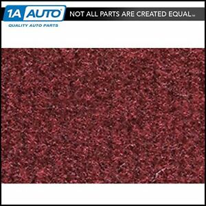 For 82 83 Chrysler Lebaron Convertible Cutpile 885 Light Maroon Complete Carpet