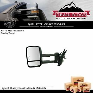 Trail Ridge Towing Mirror Power Heated Signal Driver Left Lh For Chevy Truck New