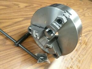 10 3 jaw Self centering Lathe Chuck Top bottom Jaws 0 0015 Tir 1003f0 New