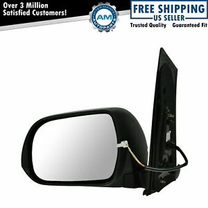 Side View Mirror Power Textured Black Driver Left Lh For Toyota Sienna