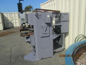 Taylor Winfield 75 Kva Seam Welder With Controls Resistance Spot