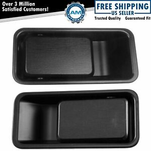 Door Handles Outside Exterior Left Right Pair Set For 87 06 Jeep Wrangler