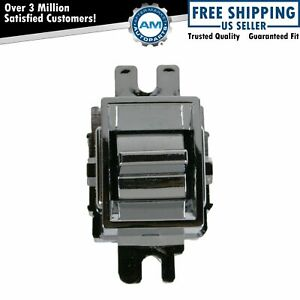 Chrome Single Button Power Window Switch For Electra Lesabre Park Ave Fleetwood
