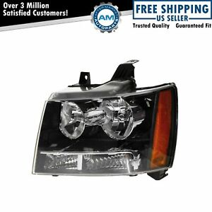 Headlight Headlamp Left Lh Truck Driver Side For 07 13 Suburban Tahoe Avalanche
