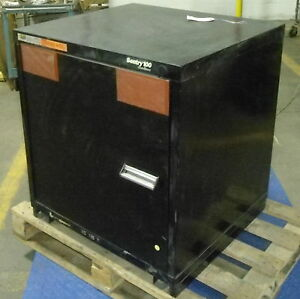 Stanley 33 h 30 w 28 d Vidmar Sentry 100 Static Proof Cabinet pzb