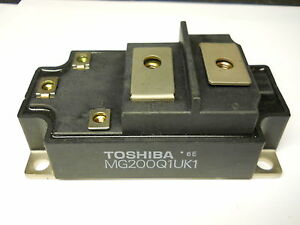 Toshiba Mg200q1uk1 Transistor Module 200a 1200v New Condition No Box