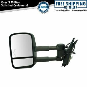 Towing Power Heated Signal Side View Mirror Driver Left Lh For 07 13 Chevy Truck