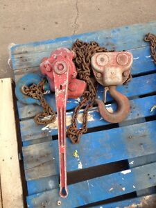 Coffing 6 Ton Lever Puller Chain Hoist Come A Long 10 Lift