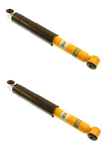 2 Bilstein B6 Hd Left Right Rear Shock Absorbers Struts For Porsche 924 944 968