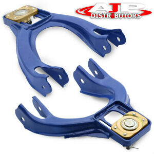 92 95 Honda Civic Eg 94 01 Acura Integra Adjustable Steel Front Camber Kit Blue