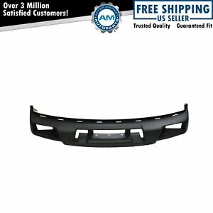 Front Bumper Cover For Chevy Colorado Gmc Canyon Pickup Truck W Fog Lights
