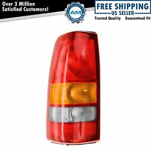 Rear Brake Taillight Taillamp Light Lamp Driver Left Lh For Silverado Sierra